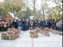 神戸で「3.11」追悼イベント-300人参加、被災地とメッセージ送り合う